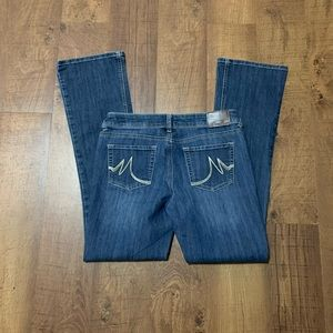 Maurices Straight Mid Rise Jeans